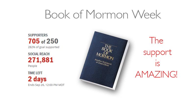 Book of Mormon Week